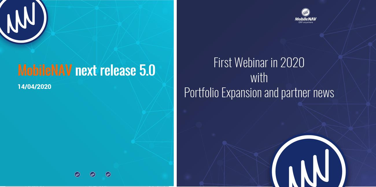 MobileNAV 5.0 release webinar presentation banner